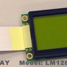 供应128x64点阵LCD液晶屏LM12864MBC