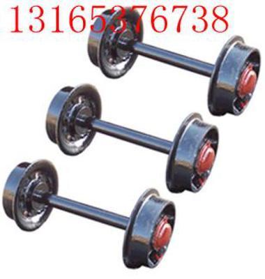 矿车轮对图片/矿车轮对样板图 (1)