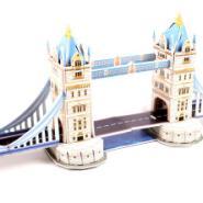 世界著名建筑模型3D立体拼图拼板图片