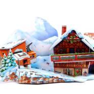 3D立体拼图2012最热销589A彩盒装滑图片