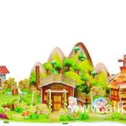 童话故事3d拼图卡通系列拼图拼板图片