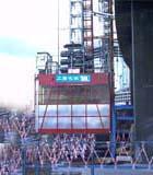 施工升降机供货商图片