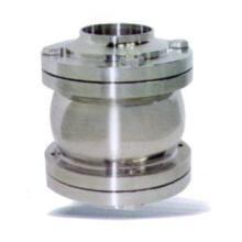 专业生产H71F卫生级法兰对夹式止回阀图片