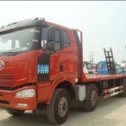 大型28吨挖机运输车30吨平板车图片