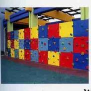 四川高空攀岩墙制作/重庆攀岩墙/户外梨花木制儿童玩具/重庆大渡口攀岩