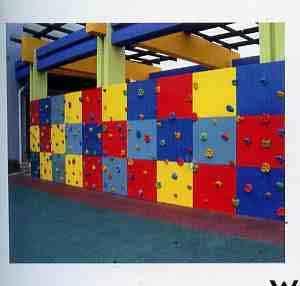 重庆人造攀岩墙公司图片