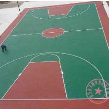 重庆塑胶网球场施工图片