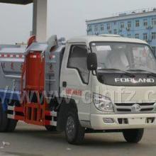 供应福田时代挂桶垃圾车3-5吨CLW5070ZZZB4自装卸式垃圾车图片