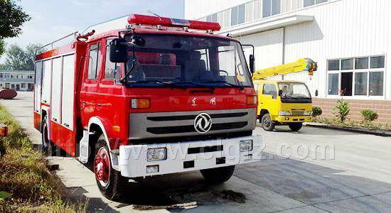 供应厂价直销东风153双排水罐消防车