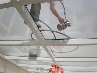 供应顶棚玻璃透明防晒隔热涂料