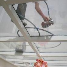 供应顶棚玻璃透明防晒隔热涂料批发