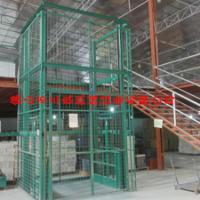 供应导轨式升降货梯与剪叉式升降货梯