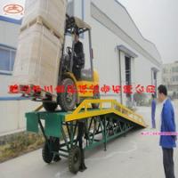 供应移动式登车桥哪家质量好哪里价格便宜厂家报价移动装卸平台安装