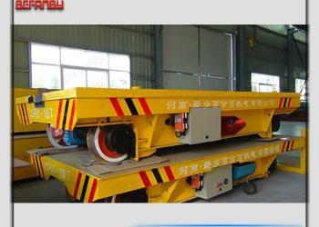 搬运井架钢架专用电动地轨车图片