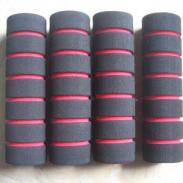 彩色竹节管 彩色指纹管 橡塑管图片