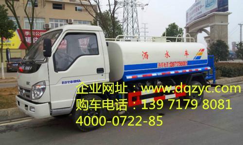 供应福田5吨洒水车图片