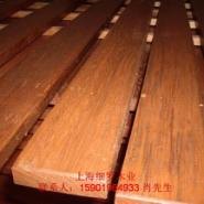 印尼菠萝格原木板材加工图片