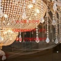 供应广州中山水晶灯隐形防坠网厂家定做