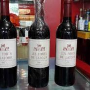 法国拉图堡红葡萄酒图片