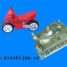 供应小警车童车塑料模具加工