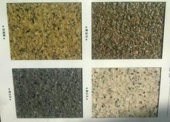 真石漆仿石材保温装饰板供应商图片