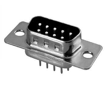 供应180度DB9-12插座+9P错位DIP排针