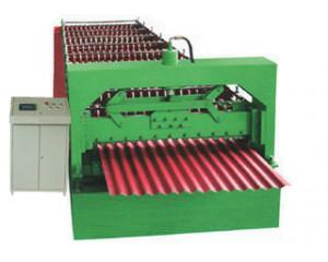 供应质高价优彩钢波浪板压瓦机设备