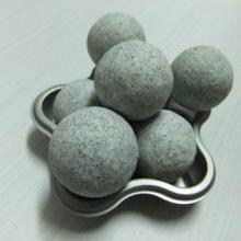 供应浙江哪里有抛光研磨石?湖州棕刚玉圆球抛光石厂家最低价