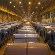 山东钢铁市场优质彩涂镀锌彩钢现货图片
