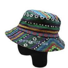 供应民族西藏布帽 云南帽子货源 哪里有帽子批发?