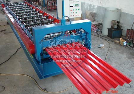 彩钢压瓦机 彩钢压瓦机供货商 750型彩钢压瓦机的价格 彩...