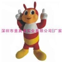 供应定做加工蜜蜂毛绒玩具公仔厂家,深圳毛绒公仔定制加工厂 图片 效果图