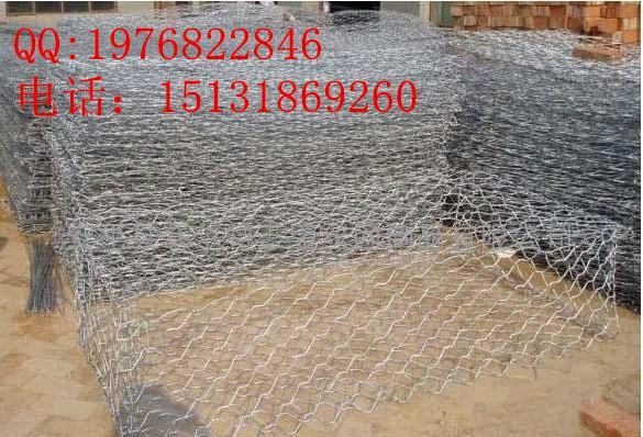 护山用的石笼网山地防护网边坡防护网安平联企石笼网