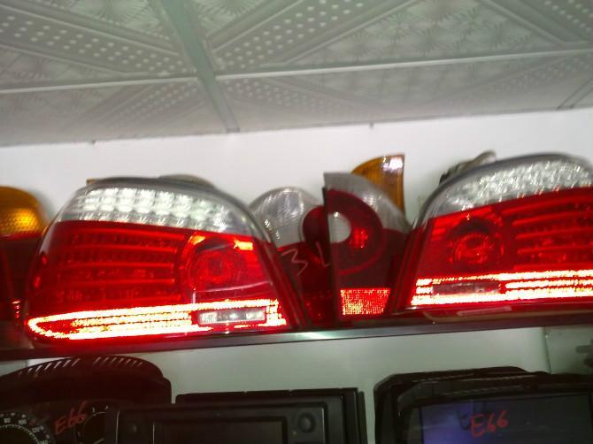 供应5系E60尾灯总成拆车件/带LED
