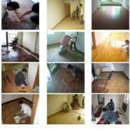 北京最优惠的实木地板翻新电话图片