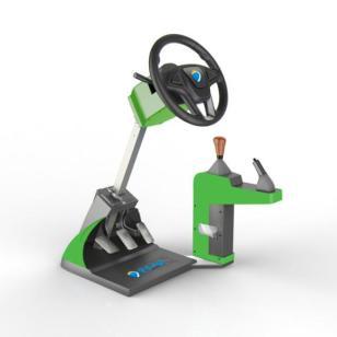驾吧模拟学车机多少钱一台图片
