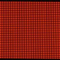 供应F5.0室内点阵单红色单元板