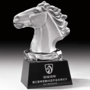 郑州马年颁奖礼品/个性水晶奖杯/图片