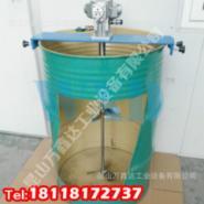 200公斤油桶用横板式气动搅拌机图片