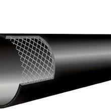 供应钢丝网管煌盛钢丝网骨架塑料复合管DN160西安煌盛管业钢丝网骨架管批发 张总:一八七九二七七零八五八