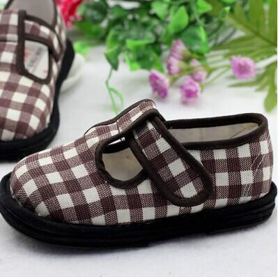 供应儿童布鞋手工布鞋巧脚丫手工童鞋