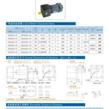 供应流水线电机250W定速电机非标设备马达6IK250RGU-CF