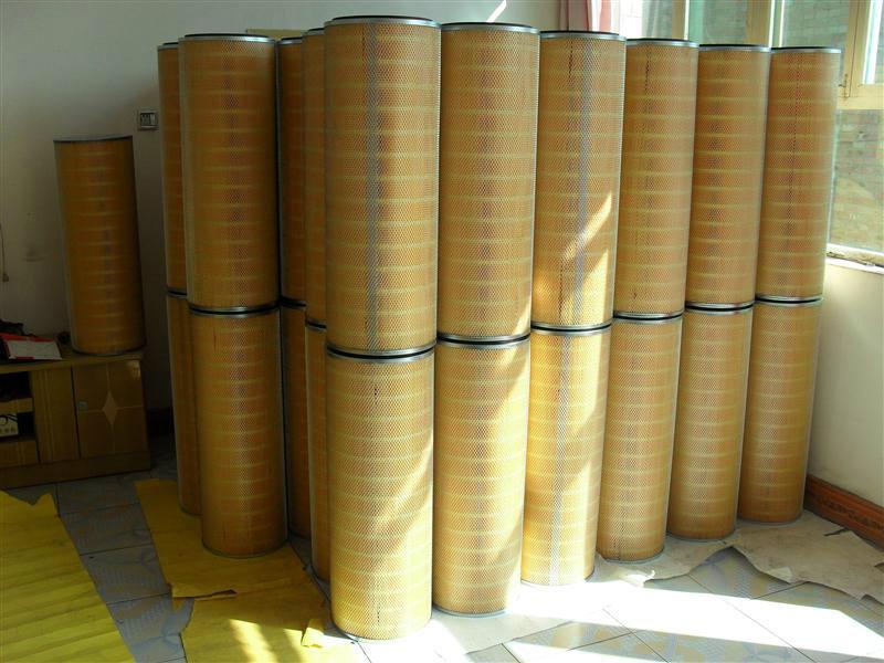 供应除尘滤筒1501000滤芯厂家图片