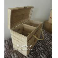 青花瓷瓶包装盒白酒木盒定做白酒图片