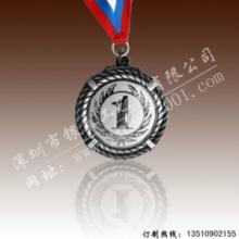 供应锌合金镀银数字奖章的价格