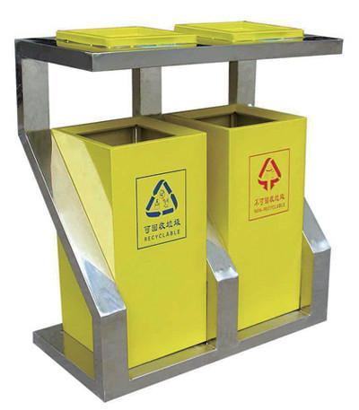 厂价供应优质钢板垃圾桶