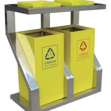 厂价供应优质钢板垃圾桶批发