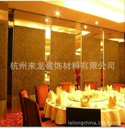 供应酒店折叠移动屏风图片