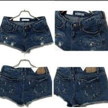 供应牛仔短裤休闲裤女装牛仔裤外贸尾货