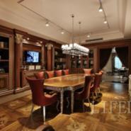 新古典餐厅家具图片